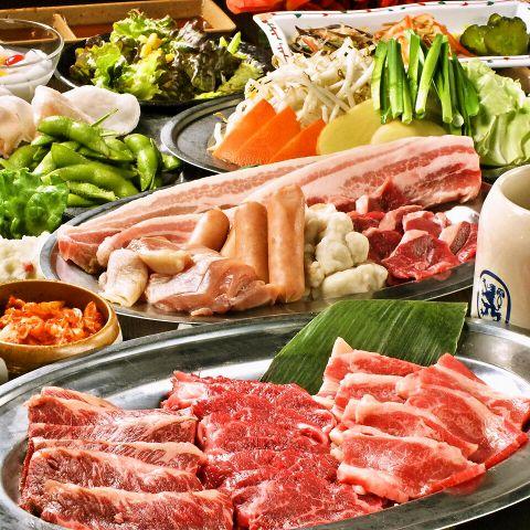 【川崎】安いお得!川崎で焼肉食べ放題がある店10選!!