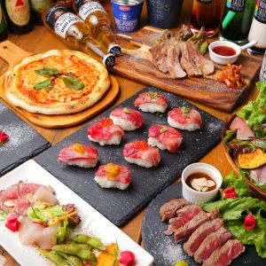 貸切 記念日 個室 肉バル 和牛寿司 食べ飲み放題 居酒屋 UMIYA CLUB(ウミヤクラブ)_02