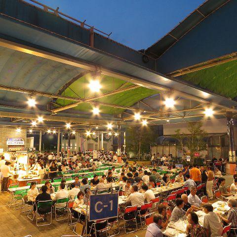 広島の夜空で美味しくビール!!広島でビアガーデンがある店4選!!