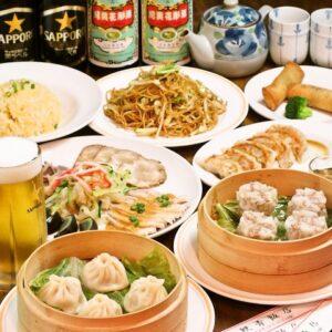 上海酒家 食べ放題 軼菁飯店(いじんはんてん) 吉祥寺_01