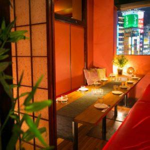 完全個室と食べ放題 技屋 wazaya 新宿西口店_04