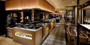 Buffet&Caf SLOPE SIDE DINER ZAKURO グランドプリンスホテル新高輪_05