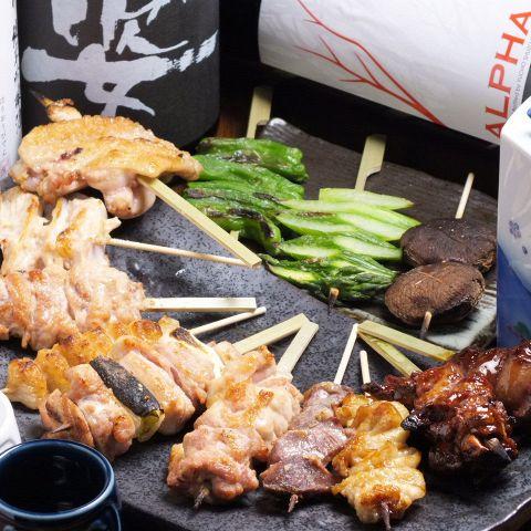 【池袋】池袋で焼き鳥を個室で食べられるお店15選!!