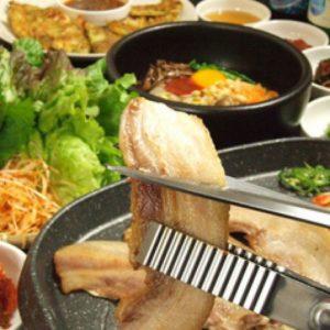 韓国料理  豚まる 藤沢店_02