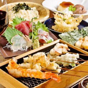 海鮮串天ぷら 中野家 東中野店_03