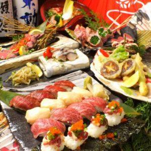 肉料理 肉の寿司 OKITAYA 梅田東通り店_01