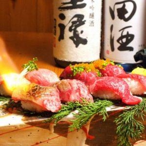 肉料理 肉の寿司 OKITAYA 梅田東通り店_03