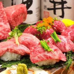 肉料理 肉の寿司 OKITAYA 梅田東通り店_02