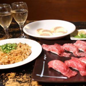 肉寿司食べ放題×誕生日×女子会~恵比寿よしにく~_04