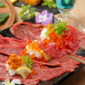 肉の寿司 薪火肉バル キッチンひろ 梅田店_04