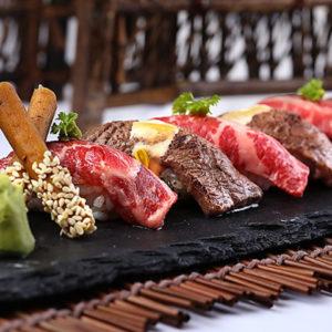 肉寿司&和牛ステーキ 150品食べ飲み放題個室肉バル サルーテジャポン渋谷店_02