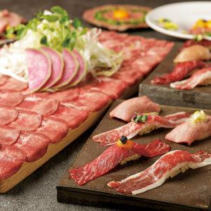 個室 肉寿司と肉炊きもつ鍋と牛タンしゃぶしゃぶ 金肉 KIN-NIKU 名古屋駅店_04