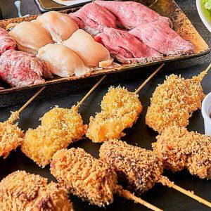 完全個室で寿司&肉寿司食べ飲み放題 響き 栄錦店03