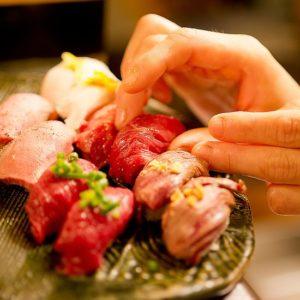 肉寿司 名古屋 名駅本店05