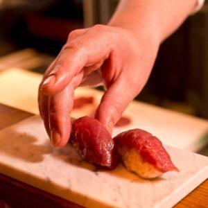 上大岡 肉寿司01