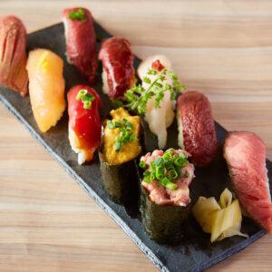 秋葉原 肉寿司02