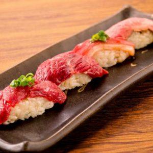 柏 肉寿司01