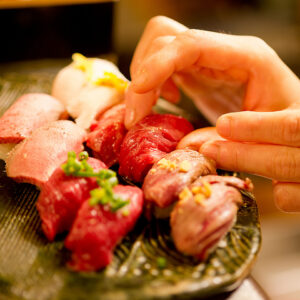 津田沼 肉寿司02