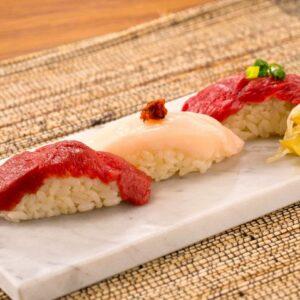 かわごえ 肉寿司01