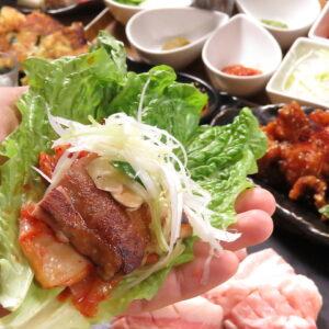 サムギョプサル×鍋×韓国料理 OKOGE梅田東通り店01