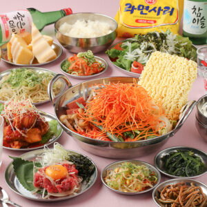 韓国料理×韓国鍋 サラン本店01